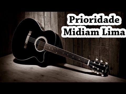 PRIORIDADE - MIDIAN LIMA (CIFRA SIMPLIFICADA) #violãoiniciante