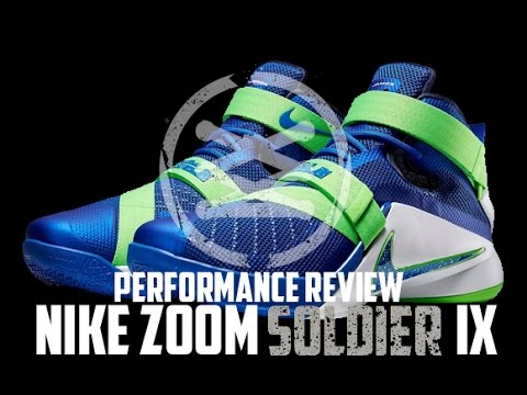 9a60f4e887f7 Nike Zoom Soldier IX (9) Performance Review - YouTube
