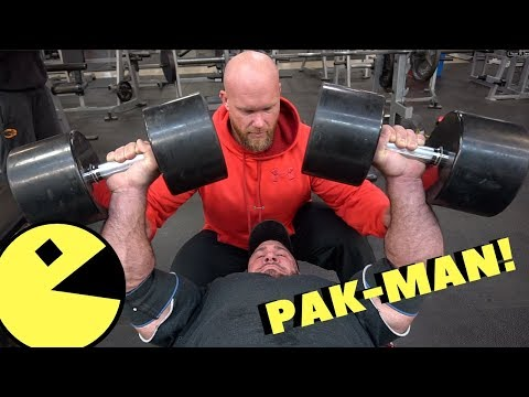 My chest workout with Ben Pakulski!