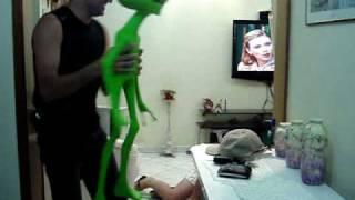 Susto com ET - Susto com Alienígena - Susto com Alien