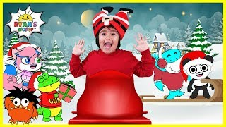 Jingle Bells Kids Christmas Songs with Ryan's World!!!