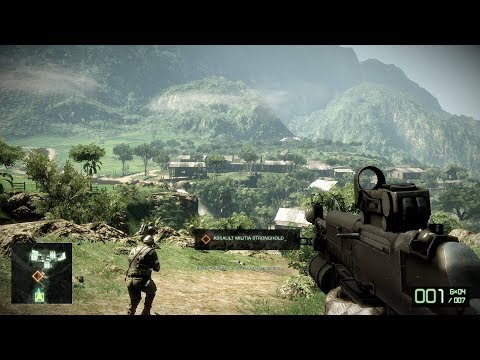 CRAZY SHOOTOUT in Colombia Jungle ! Battlefield Bad Company 2