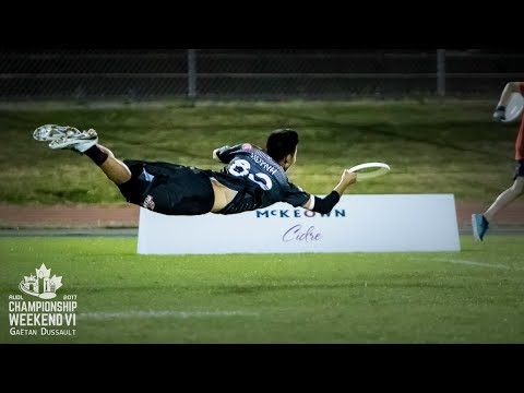 Game Highlights: Toronto Rush vs Dallas Roughnecks — 2017 AUDL Semifinal