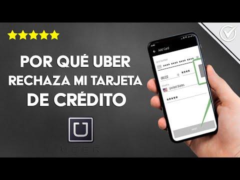 ¿Por qué Uber Rechaza mi Tarjeta de Crédito si la Tengo Activa? - Solución