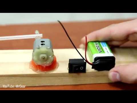 Como Hacer Ventilador Con Motor De Carro A Control Remoto Youtube