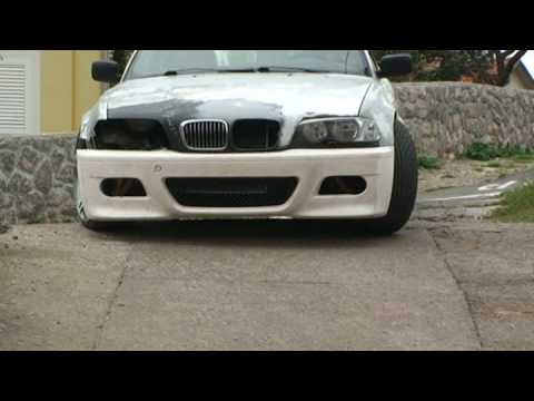 Bmw 325 E36 E46 Conversion With 19 Quot M6 Wheels Youtube