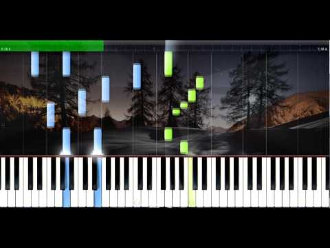 Beautiful Piano Music On Synthesia - Free MIDI download