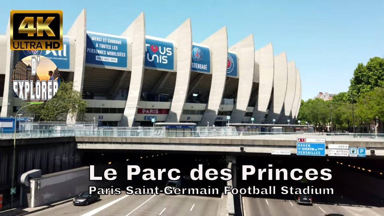EXPLORING PARIS》Walking Around Le Parc des Princes( Paris ...