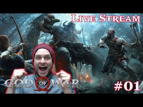 I've Been Waiting For This Moment For Years! - God of War (PS4) - LIVE STREAM [#01]