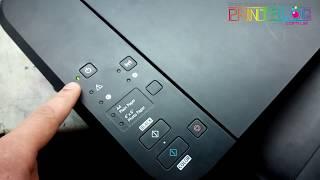видео Как устранить ошибку - абсорбер полон чернил - принтер Сanon MP 140 series Printer -