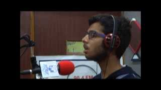 Daulat Shohrat by Shivansh Jindal at Studio of Radio Madhuban 90.4 FM, Mount Abu
