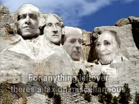 how to make a mount rushmore