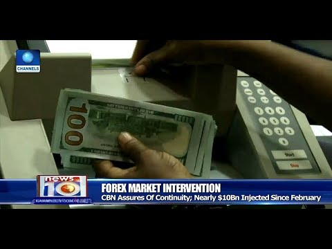 CBN Promises To Continue FOREX Market Intervention Pt.3 |News@10| 09/09/17