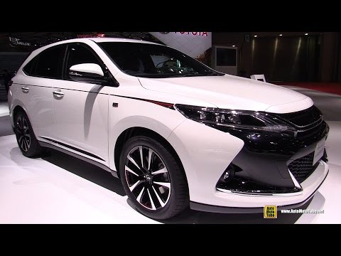 2016 Toyota Harrier G Sports - Exterior and Interior Walkaro