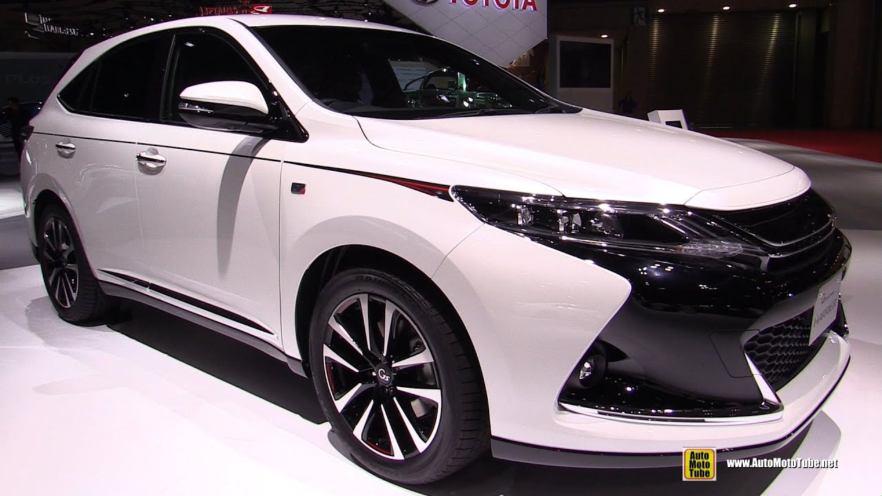 Different Jeep Models >> 2016 Toyota Harrier G Sports - Exterior and Interior Walkaround - 2015 Tokyo Motor Show - YouTube