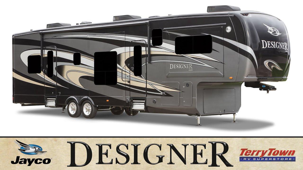 Jayco Designer 39fl 39re 37rs 37fb Luxury 5th Wheel Review Tour