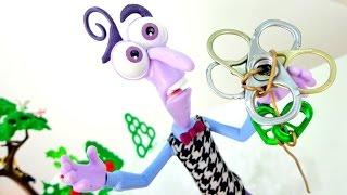 Игрушки из мультфильма Головоломка: делаем цаеточек