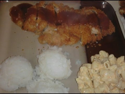 How To: L&L Chicken Katsu with Sauce Recipe