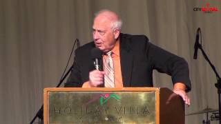 Rev. Dr. Jerry Horner - excerpts of Sunday service sermon on 18th August 2013.