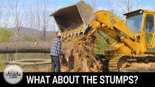 Off Grid Home Build (#4): Pulling Stumps and Rough Grading