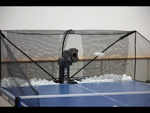無線遙控桌球發球機S302豪華版乒乓球機器人Table Tennis Robot SUZ.專業私人教練機器人