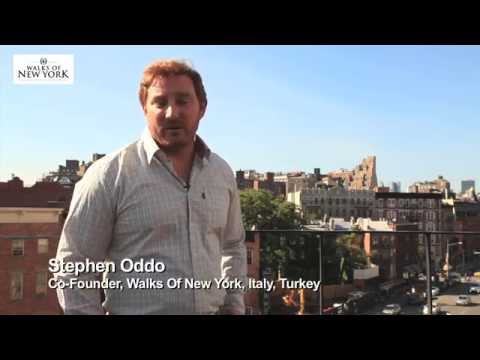 Disney on Broadway Tour, Walk Of New York - Stephen Oddo, Co-Founder, Walks Of New York