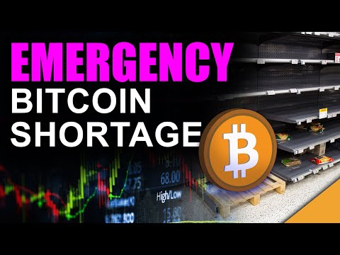 EMERGENCY BITCOIN SHORTAGE!! (Smartest Investors Buying it All in 2021)