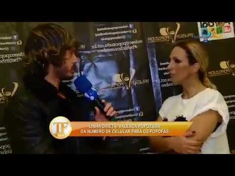 TV Fama 14/07/2014 - Valesca Pede Para 'popofãs' Não Ligarem A Cobrar