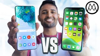 Samsung Galaxy S20 vs iPhone 11 - Apple gets Slaughtered?