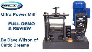 Pepe Tools ULTRA Series Power Mill Demo & Review in HD