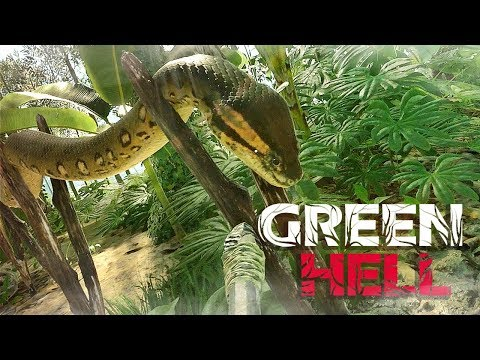 GREEN HELL #43 - WTF.. Anaconda-chan O_O? ● Let's Play Green Hell
