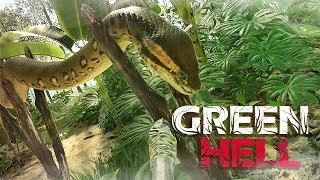 GREEN HELL #43 - WTF.. Anaconda-chan O_O? ● Let's Play Green Hell