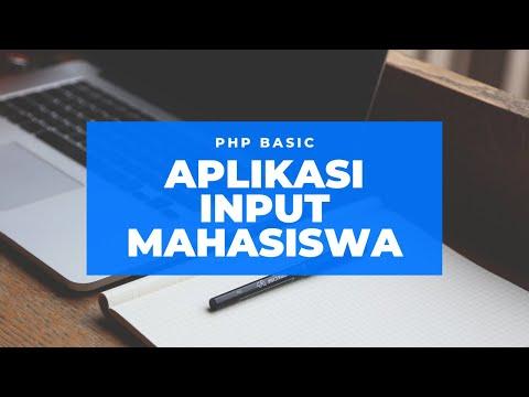 Aplikasi PHP Standar Form Input Data Dan Form Laporan Menggunakan Bootstrap