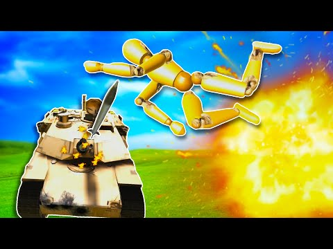 Blowing Up Tanks, Jets, and Dummies in Disassembly VR! |