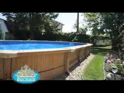 Aquabois le sp cialiste des piscines bois youtube for Specialiste piscine