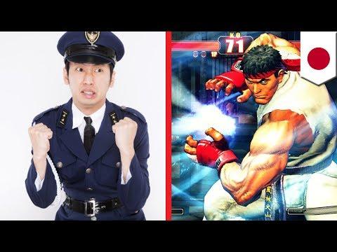 Iklan Street Fighter Dipakai Untuk Rekrut Polisi Cyber Di Jepang - TomoNews