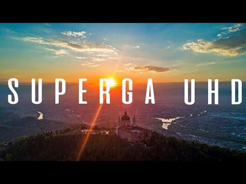Basilica di Superga by drone