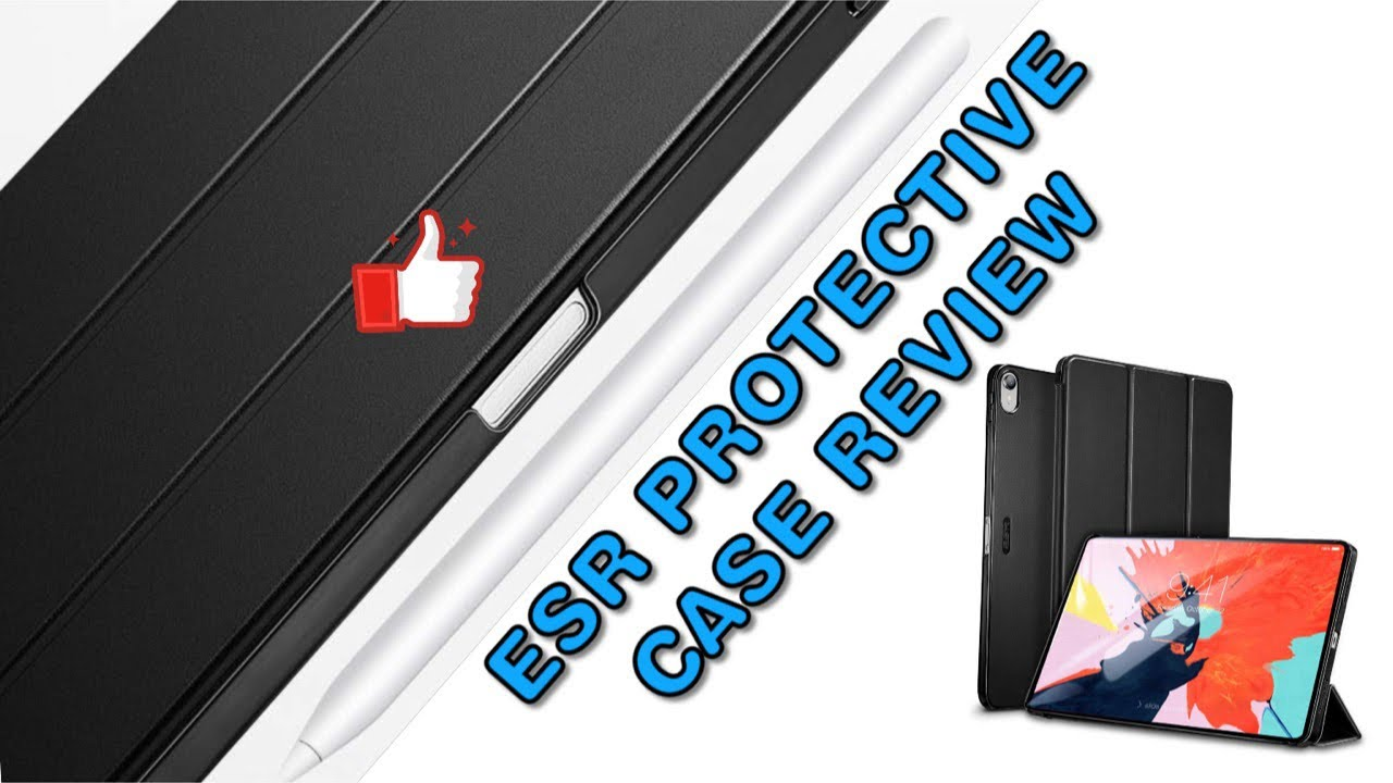 premium selection 221c5 79e7f ESR iPad Pro 2018 Protective Case Review and how to fix the non-charging  Apple Pencil