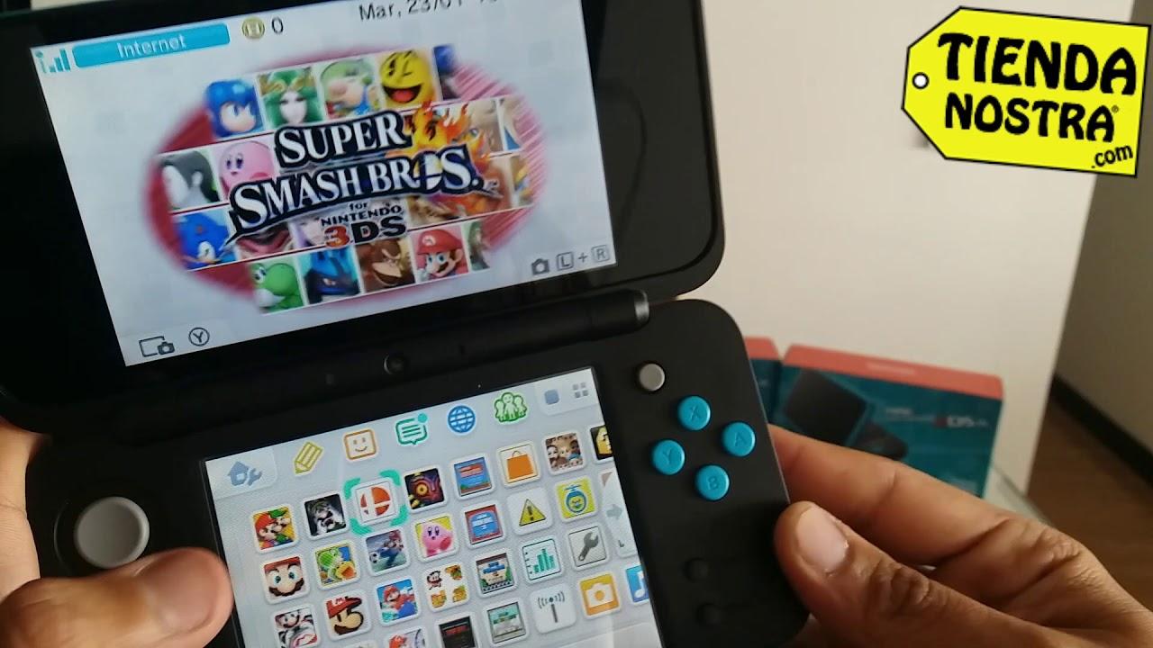 New Nintendo 2ds Xl Colombia Bogota Programada Con Juegos