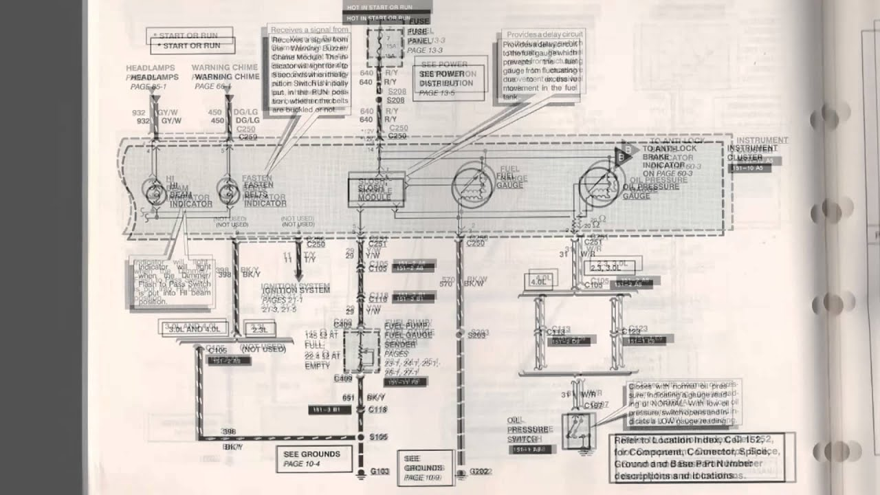 1992 1994 2 3l Ford Ranger Fuel Injector Wiring Diagram
