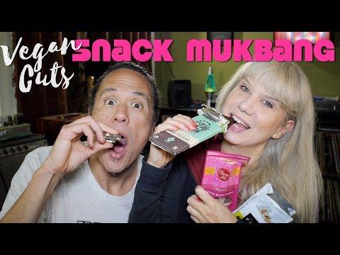 Vegan Snack Food Unboxing & Trying: Mukbang