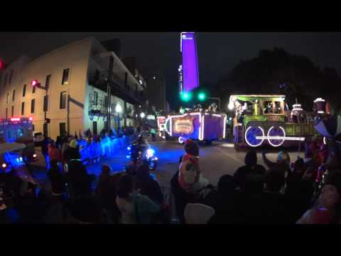 2016 Conde Cavaliers Mardi Gras Parade in Mobile, Alabama (Part 1)