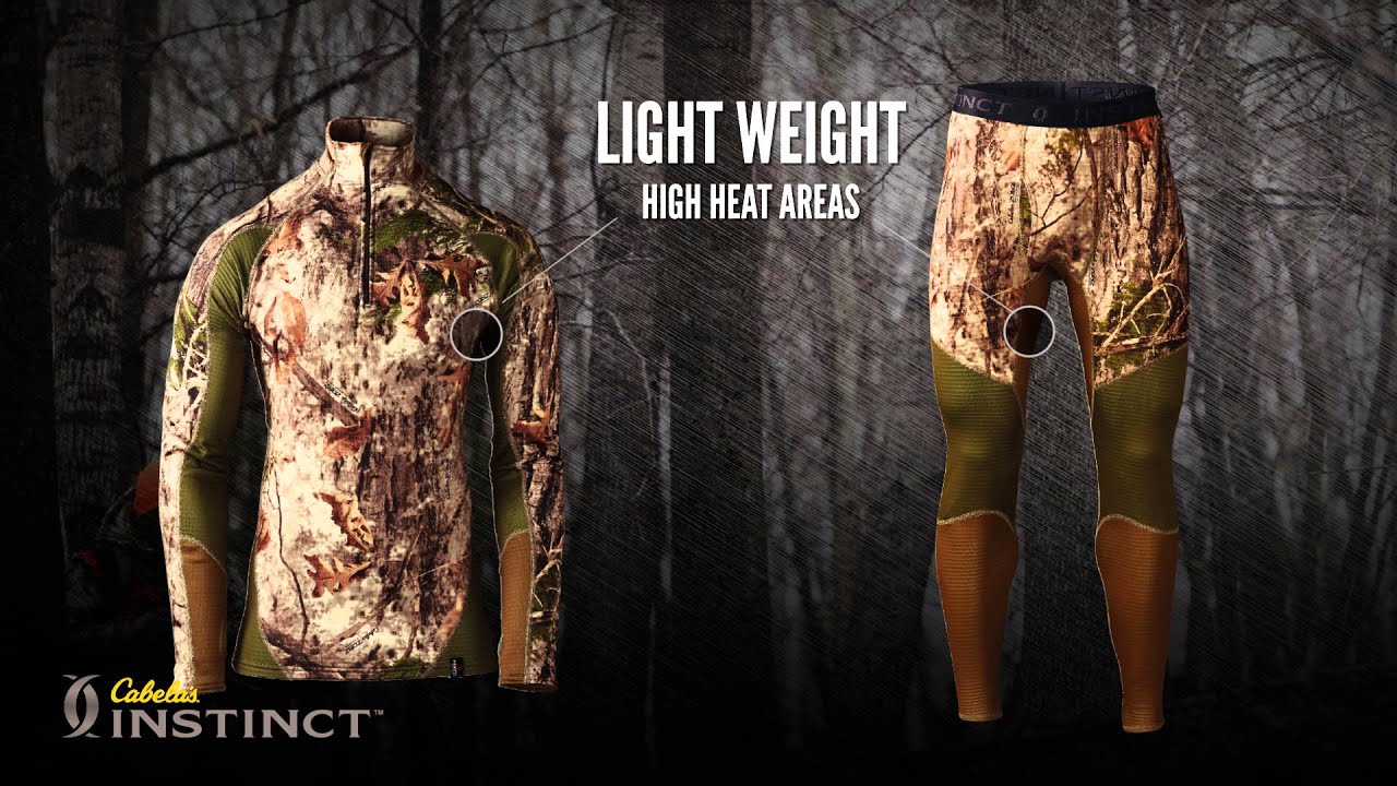 be61907c736 Cabela's Instinct™ Reliant Whitetail Thermal Zone® Base-Layer Top & Bottom
