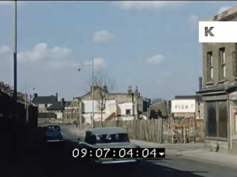 1960s Woolwich, London, Construction Site, Regeneration