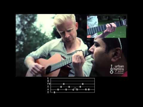 heartbeats -- josé gonzález, guitar tutorial