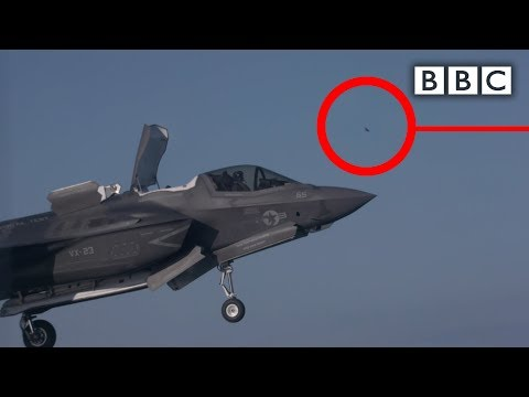 Tiny bird takes down most expensive fighter jet ever built - BBC