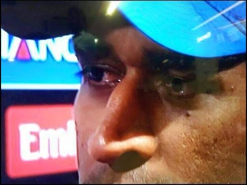 Dhoni Emotional Moment Respect ICC WORLDCUP 2015 India Vs Australia