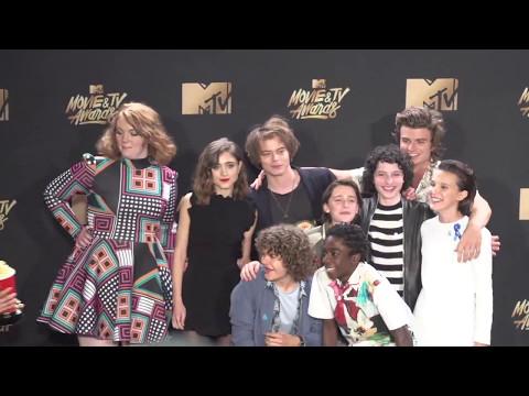 Cast of Stranger Things @ MTV Movie & TV Awards