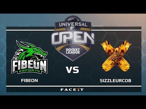 Fibeon vs SizzleUrCob - Universal Open Rocket League