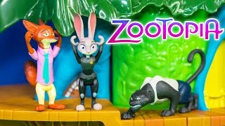 Unboxing the Zootopia Danger in the Rainforest District Playset thumbnail